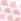 Pink Bedruckt