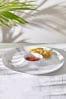 Marble Print Melamine Chip And Dip