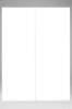 1.5m Sloane White Glass Sliding Wardrobe