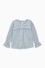 刺繡長袖上衣 (3-16歲)