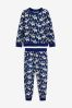 Matching Family Kids Christmas Moose Pyjamas (9mths-16yrs)