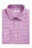 Pink Gingham Regular Fit Shirt With Pocket