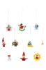 Paperchase 48 Mini Wooden Ornaments
