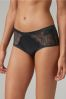 High Shine Mid Rise Short Knickers