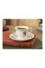 V&A Alice in Wonderland Espresso Cup and Saucer