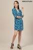 Whistles Luna Cordilla Print Dress
