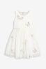 Платье с бабочками (3-16 лет)
