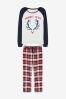 Пижама для женщин с оленем из коллекции для всей семьи