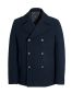 Navy Wool Rich Peacoat