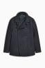 Zweireihige Jacke mit hohem Wollanteil