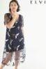 Elvi Embroidered Bird Dress
