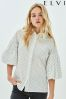 Elvi Puffball Sleeve Shirt