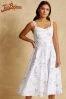 Joe Browns Womens Sleeveless Occasion Dress With Sweetheart Neckline