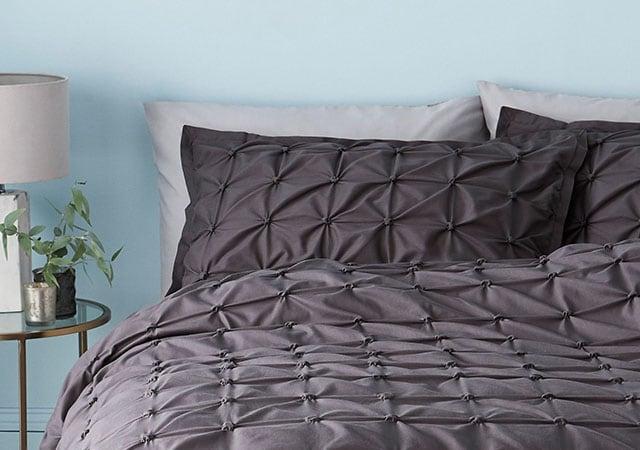 30a1960571172 Cotton Rich Duvet Cover And Pillowcase Set · Grey bedding - Take a look at  this season