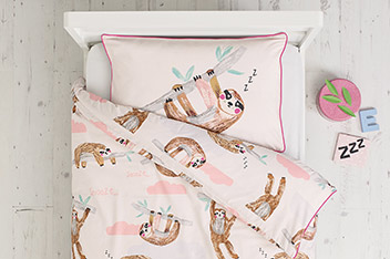 Sleepy Sloth Bed Set