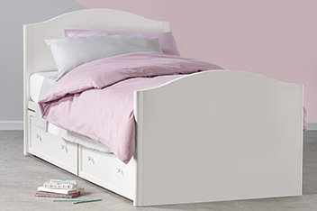 Amelia Storage Single Bed