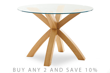 Christmas Dining Tables Next Official Site - Glass dining table for 10