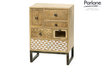 Parlane 6 Drawer Boho Unit