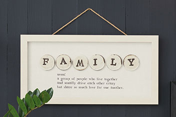 Family Definition Frame
