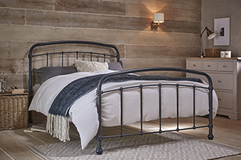 Shoreditch® Metal Bedstead With Footend