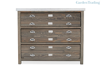 Garden Trading 3 Drawer Architect's Console