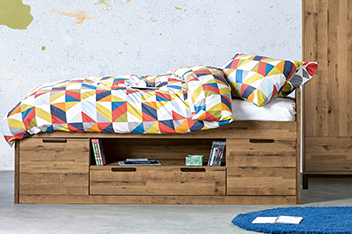 Salvage Cabin Bed