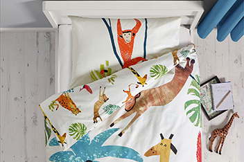 Jungle Bed Set