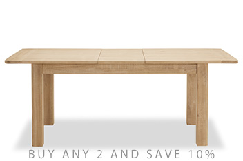 Huxley 6 To 8 Seater Extending Dining Table