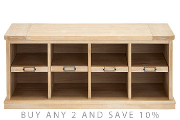 Huxley Shoe Storage Bench