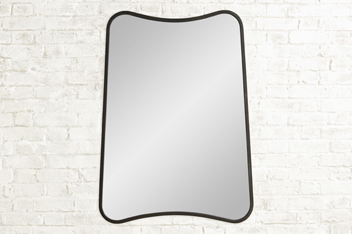 Salvage Wave Rectangle Mirror