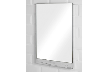 Palermo Marble Effect Wall Mirror