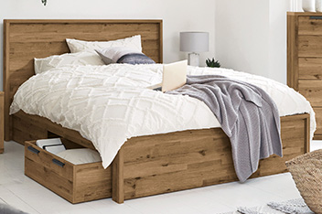 Wooden Beds Single Double Wooden Beds Next Uk