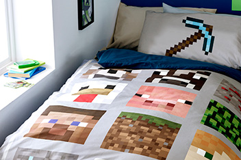 Minecraft Bed Set