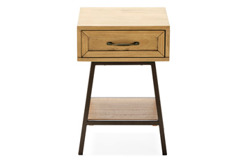 Hoxton Metal Bedside Table