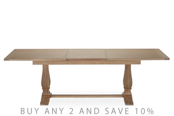 Hardwick 6 10 Seater Extending Dining Table