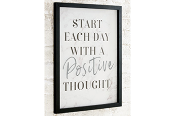 Positive Thought Layered Frame