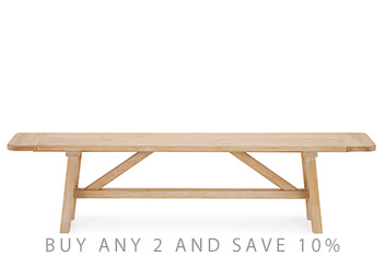 Huxley XL Single Bench