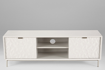 Mode  Grey Gloss TV Stand