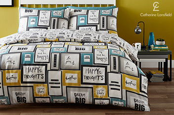 Catherine Lansfield Dream Big Bed Set