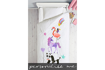 Animal Party Bed Set