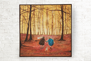 Artist Collection Autumn by Sam Toft Canvas