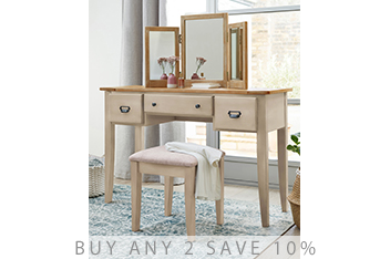 Huxley Painted Dressing Table Set