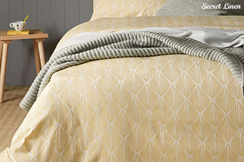 Secret Linen Store Mabel Duvet Cover