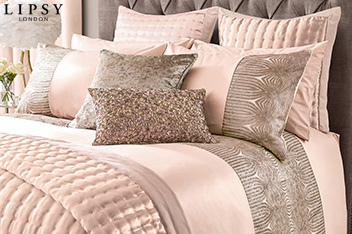Lipsy Sequin Panel Bed Set