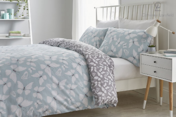Catherine Lansfield Butterfly Bed Set