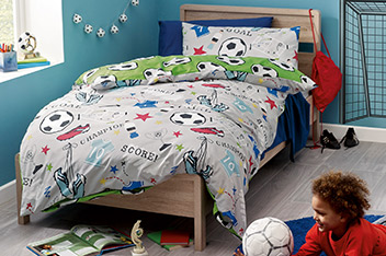 Football Bed Set