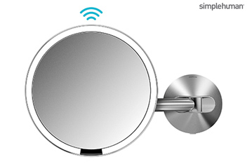 Simple Human 20cm LED Wall Mounted Mirror