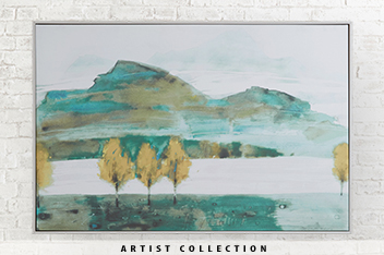 Artist Collection Autumn Trees II By Law Wai Hin Large Frame