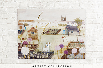Artist Collection A Good Day For It By Hannah Cole Canvas