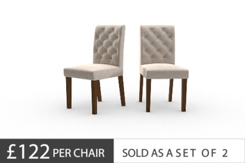 Set Of 2 Moda II Button Chairs